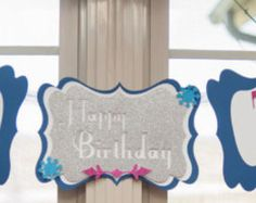 Custom Birthday Banners, Event Banner, Party Stores, Whimsical, Art Pieces, Create, Handmade Gifts, Design, Kid Craft Gifts