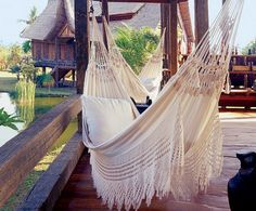 Exotic Outdoor Space by Linda Garland in Bali, Indonesia Outdoor Spaces, Outdoor Living, Outdoor Decor, Lazy Summer Days, Home And Deco, Interior Exterior, My New Room, My Dream Home, Spring Break