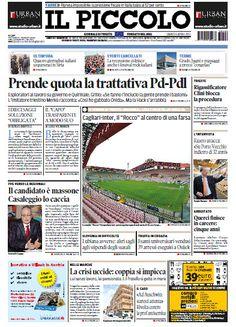 Il Piccolo di Trieste - Gorizia - 06.04.2013 Italiano | True PDF | 2 x 48 Pagine | 25/27 MB