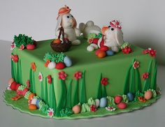 Southern Blue Celebrations: EASTER CAKES