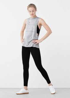 Camiseta relax sport - Mujer | MANGO España