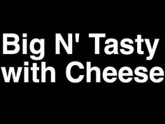 How to Pronounce Big N' Tasty Cheese McDonald's Hamburger Menu Nutrition Calories Monopoly Game Hamburger Menu, Mcdonald Menu, Mcdonald's Restaurant, How To Pronounce, Menu Items, Mcdonalds, Tasty, Nutrition, Cheese