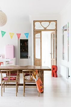 Entryway: doors for closets; Interior doors with uniquely shaped cutouts