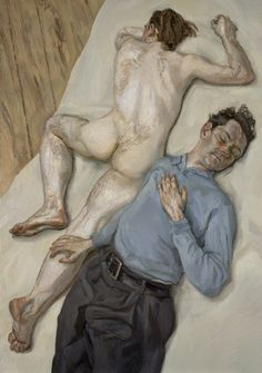 Lucian Freud – Two Men, 1987-88 | National Galleries of Scotland