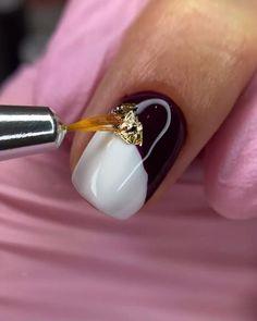Creative Nail Designs, Creative Nails, Nail Art Designs, Nail Drawing, Nail Shop, Nail Tutorials, Trendy Nails, Nailart, Gemstone Rings