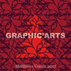 Carte de voeux 2017 Mosaïque  de Sapins