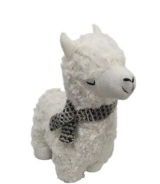 Element Polyester White Llama Door Stopper, 11.5-Inch #Sponsored , #spon, #White#Llama#Element Kids Clothes Boys, Door Stopper, Boy Outfits, Teddy Bear, Animals, Boyish Outfits, Animales, Kids Wear Boys, Animaux