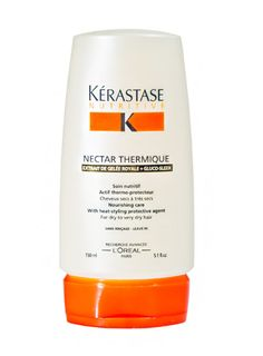 Connie Britton's Winter Beauty Essentials: Kerastase Nectar Thermique - a leave in conditioner and heat protectant