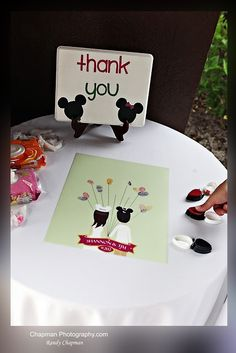 Thumbprint guest book - Disney Wedding at the Swan: Shannon + Tim | Magical Day Weddings | A Wedding Atlas Fan Site for Disney Weddings