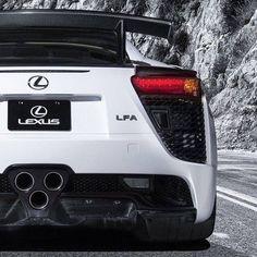 """Next up on our White Wednesday Theme, the the beautiful looking (and sounding) Lexus LFA #Gumball3000 #gumballlife"" #lexuslfawhite"