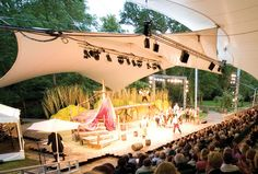 Hotel open air theatre
