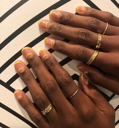 The coolest, most minimal designs for every star sign. #nail #nails #Nailart #nailtrends #manicure #gelnails #opi #essie #nailinspo
