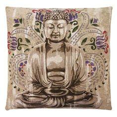 Cojín Buddha de FS Home, 45x45cm