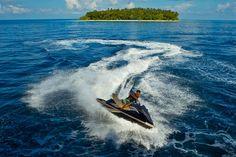 Jet skying at Kurumba Maldives
