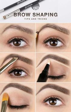 Brow Shaping Tutorials - How To Achieve Wow Eyebrows - Awesome Makeup Tips for How To Get Beautiful Arches, Amazing Eye Looks and Perfect Eyebrows - Make Up Products and Beauty Tricks for All Different Hair Colors along with Guides for Different Eyeshadows - thegoddess.com/brow-shaping-tutorials