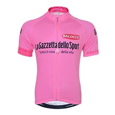 HNA Peak Mens Short Sleeve Zipper Breathable Quick Dry Mesh Bicycle Cycling  Jersey Pink XL    Learn more by visiting the image link. 4e81fc4f9