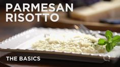 """PARMESAN RISOTTO""!!! - The Basics... ""How To"" Yummy Recipe Video Made By: QVC's  #BlueJeanChef !!!  =)  ~XOX"