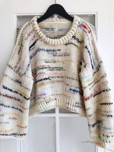 """With Her """"Alone Together"""" Sweater, Lærke Bagger Hopes to Bring Crafters Together - - Danish designer Lærke Bagger has always known she would release her own knitting patterns—and then she realized there was no time like the present. Knitwear Fashion, Knit Fashion, Fall Fashion, Style Fashion, Crochet Clothes, Diy Clothes, Hand Knitting, Knitting Patterns, Knitting Sweaters"""