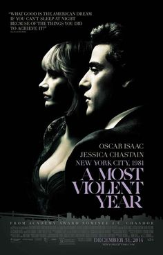 A Most Violent Year Cast Movie Poster 11x17