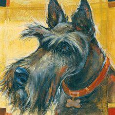 SCOTTISH TERRIER SCOTTIE DOG FINE ART PRINT | eBay