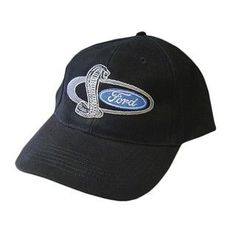 Ford Shelby Cobra Black Cotton Hat