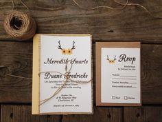 antler wedding invitations Check more image at http://bybrilliant.com/3151/antler-wedding-invitations