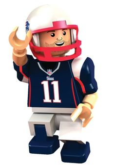 The Patriots Julian Edelman Oyo Figure is a great toy for any fan of this player! This small figurine resembles New England Patriot Wide Receiver Julian. Lego Football, Patriots Football Team, Best Football Players, Patriots Fans, Football Helmets, New England Patriots Gear, New England Patriots Merchandise, Julian Edelman, Tom Brady