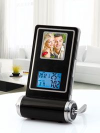 Cornice digitale con orologio e sveglia #dmail
