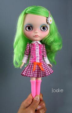 Daisy Custom OOAK Amaryllis Blythe doll by Jodiedolls