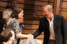 """John Grisham visits the cast of the Broadway play based on his book, """"A Time to Kill,"""" at The Golden Theater on Sept. John Grisham Books, Broadway Plays, Great Stories, Authors, Thriller, Novels, It Cast, Couple Photos"""