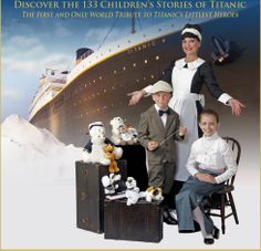 Discover the 133 Children's Stories of Titanic.  The first and only world tribute to Titanic's littlest heroes.