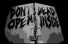 The Walking Dead (Don't Open, Dead Inside) Crochet Graphghan Pattern (Chart/Graph AND Row-by-Row Written Instructions)