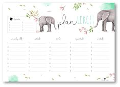 Plan zajęć – Depth of souls Timetable Planner, School Timetable, School Plan, Back To School, To Do Checklist, Raising Girls, Planning And Organizing, Everything And Nothing, Cute Stationery