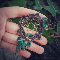 "Dolores (@regnumdraconis) on Instagram: ""Taking a moment to revisit some old art and stumbled upon this woodland dreamcatcher pendant. I…"""