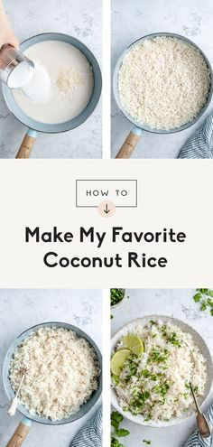 Rice Recipes, Clean Recipes, Side Dish Recipes, Vegetarian Recipes, Cooking Recipes, Vegan Vegetarian, Simple Recipes, Best Side Dishes, Veggie Side Dishes