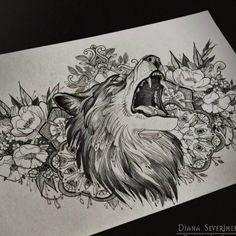 beautiful wolf idea