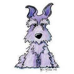 schnauzer line art - - Yahoo Image Search Results
