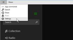 Воспроизведение музыки в приложении Groove в Windows 10
