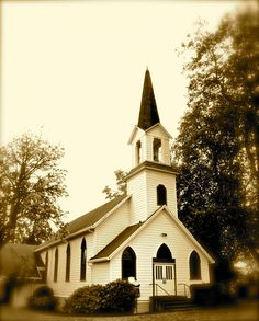 country churches photos galleries | Small country church in sepia tones 5x7 by terrymillsphoto