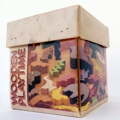 Vintage Wooden Toy Animals  Made in by Modernvintagenursery, $12.00