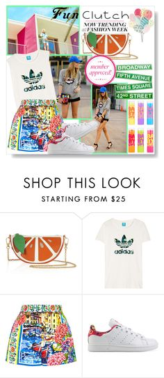 """Clutches"" by mairoula4189 ❤ liked on Polyvore featuring Maybelline, Dolce&Gabbana and adidas Originals"