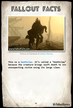Whoa Mind blowing!  fallout fallout deathclaw deathclaw deathclaws