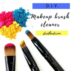 Have you been looking for an affordable alternative to those expensive makeup brush cleaners? Street Haute has you covered! cleaner can be up to… Makeup Brush Cleaner, Makeup Brush Set, Expensive Makeup, Spring Fashion Outfits, Fashion Beauty, Make Up, Diy, Cheap Makeup, Brushes
