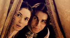 "Winona Ryder (Jo March) & Christian Bale (Theodore ""Laurie"" Laurence) - Little Women directed by Gillian Armstrong (1994) #louisamayalcott"