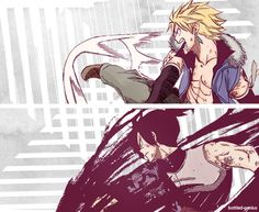 Sting and Rogue ~ the Twin Dragons.