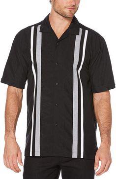 Cubavera Mens Short Sleeve Pattern Button-Front Shirt - JCPenney 5cb4d1fd371a