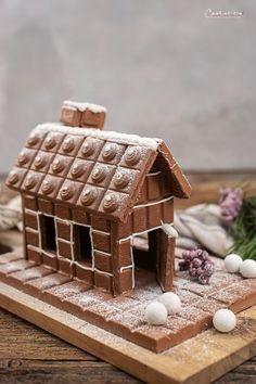 Schokohaus Landhäuschen_1522 Gingerbread, Waffles, Breakfast, Desserts, Recipes, Food, Apple Chicken, Milka Chocolate, Seafood Restaurant
