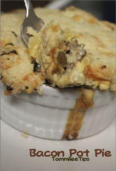 A new take on classic pot pie...BACON Pot Pie!