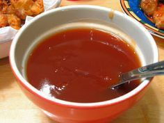 Sweet and Sour Sauce is a delicious Cambodian Food. Learn to cook Cambodian Food Recipes and enjoy Traditional Cambodian Food. Easy Sweet And Sour Sauce Recipe, Sauce Pour Fondue, Chinese Sauce Recipe, Sauce Recipes, Cooking Recipes, Gluten Free Chinese, Chicken Balls, Meatball Sauce, Cambodian Food
