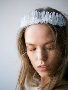 Free People Crystal Castles Crown at Free People Clothing Boutique